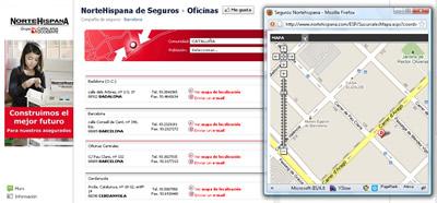 Localizador oficinas nortehispana