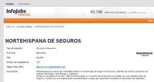 Nortehispana de seguros - ofertas de trabajo en Infojobs