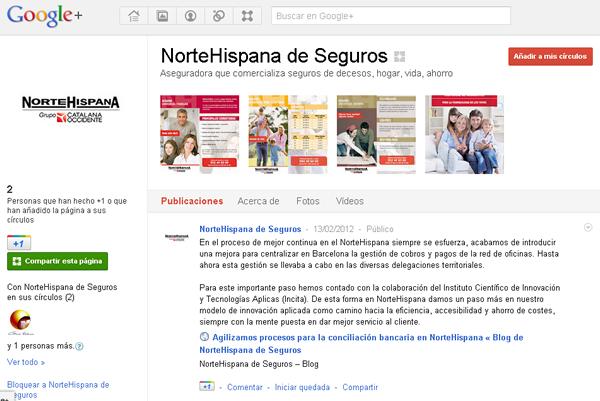 NorteHispana Google Plus