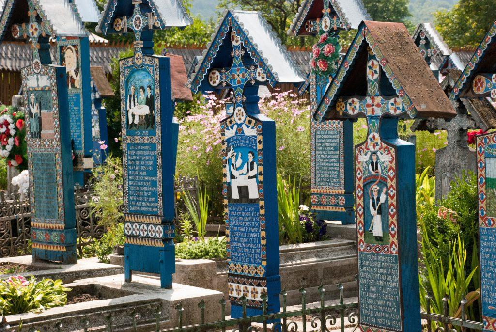 Cementerio alegre de Sapantza