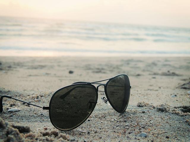 las gafas de sol puede dañarte la vista..
