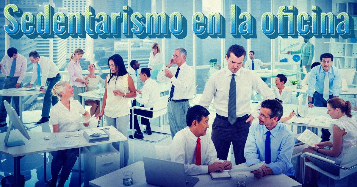 sedentarismo en la oficina