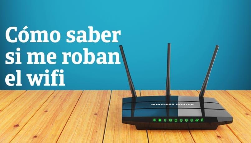 cómo saber si me roban el wifi