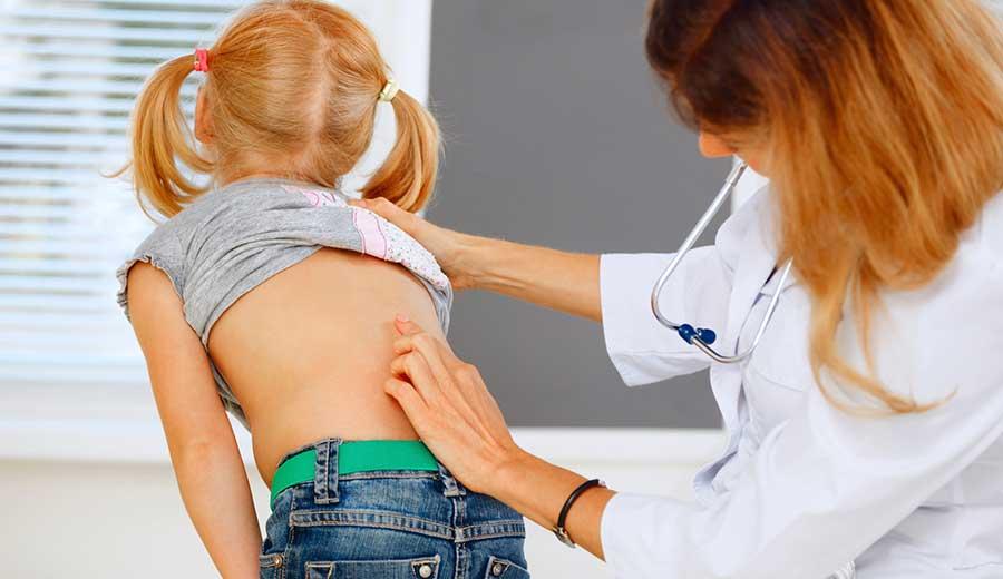 la higiene postural en los niños