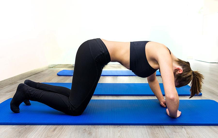 Cómo se hacen los abdominales hipopresivos