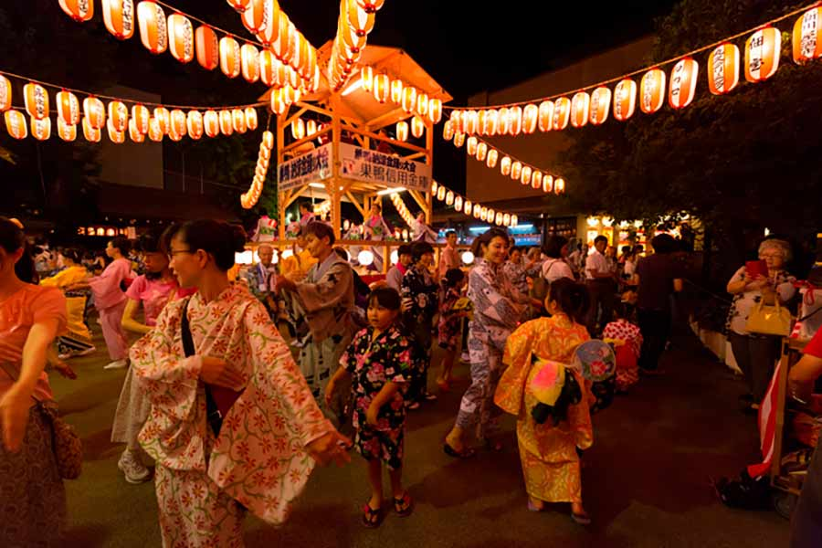 festival obon japon